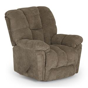 Morris Home Furnishings Maurer BodyRest Rocker Recliner