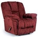 Best Home Furnishings Maurer BodyRest Rocker Recliner - Item Number: 9DW37