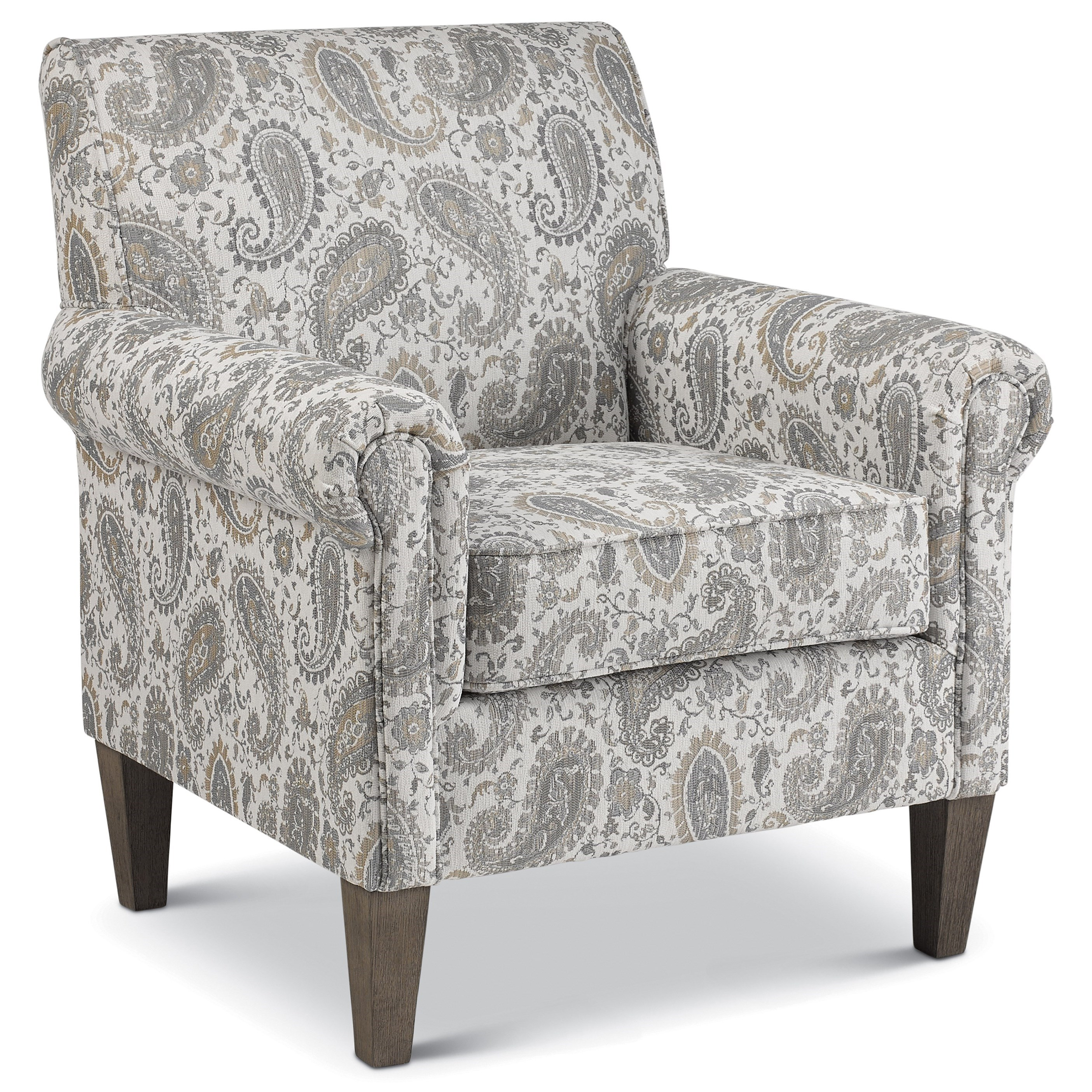 McBride Club Chair by Best Home Furnishings at Walker's Furniture