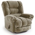 Best Home Furnishings Medium Recliners Seger Swivel Glider Recliner - Item Number: -1353563991-20621