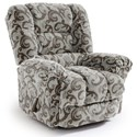 Best Home Furnishings Recliners - Medium Seger Swivel Glider Recliner - Item Number: -1353563991-28823