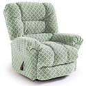 Best Home Furnishings Medium Recliners Seger Swivel Glider Recliner - Item Number: -1353563991-28842