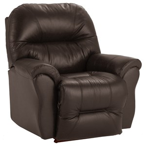 Best Home Furnishings Medium Recliners Bodie Power Rocker Recliner
