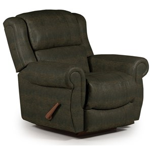 Best Home Furnishings Recliners - Medium Terrill Swivel Rocker Recliner