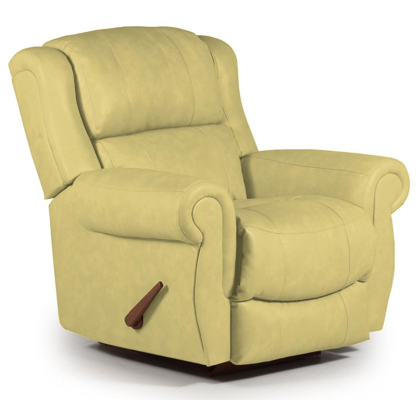 Best Home Furnishings Recliners - Medium Terrill Swivel Rocker Recliner - Item Number: -595658627-28595U
