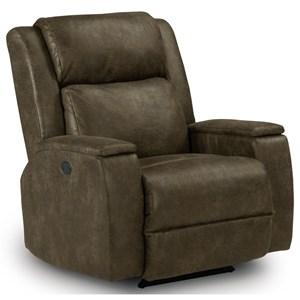 Best Home Furnishings Recliners - Medium Colton Power Rocker Recliner