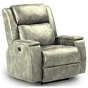 Best Home Furnishings Recliners - Medium Colton Power Rocker Recliner - Item Number: -622406630-28597U