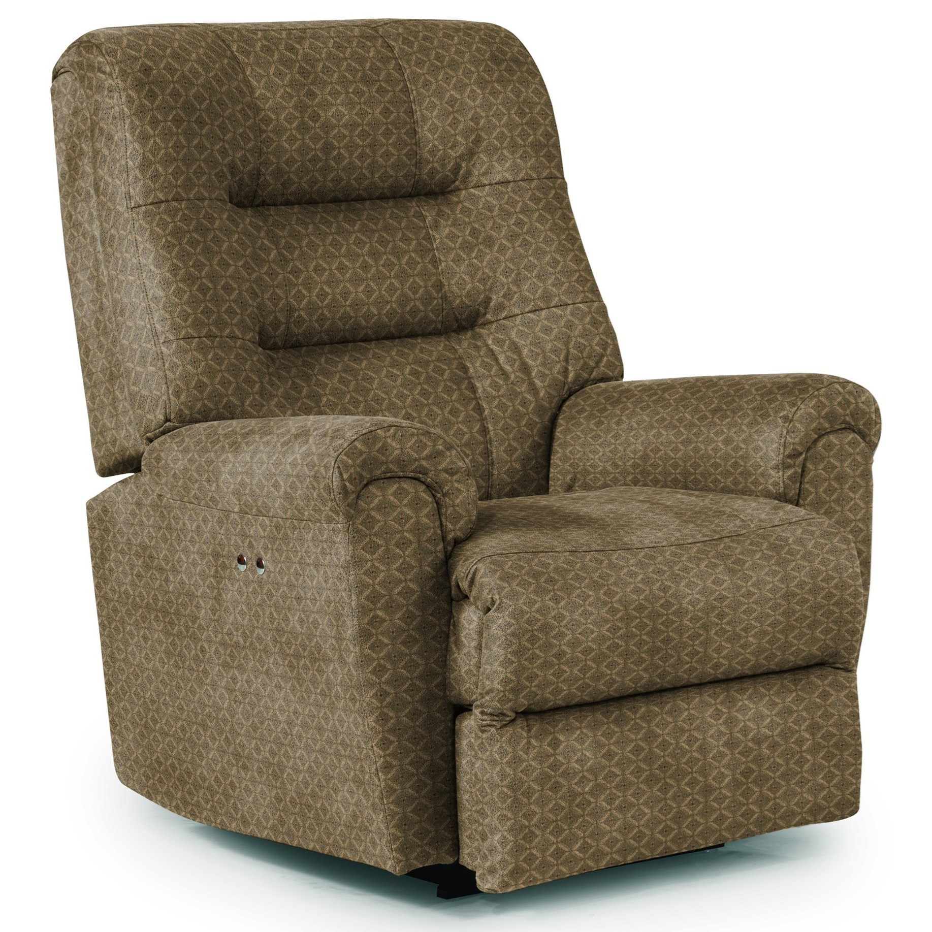 Best Home Furnishings Recliners - Medium Langston Power Space Saver Recliner - Item Number: -677908475-18021
