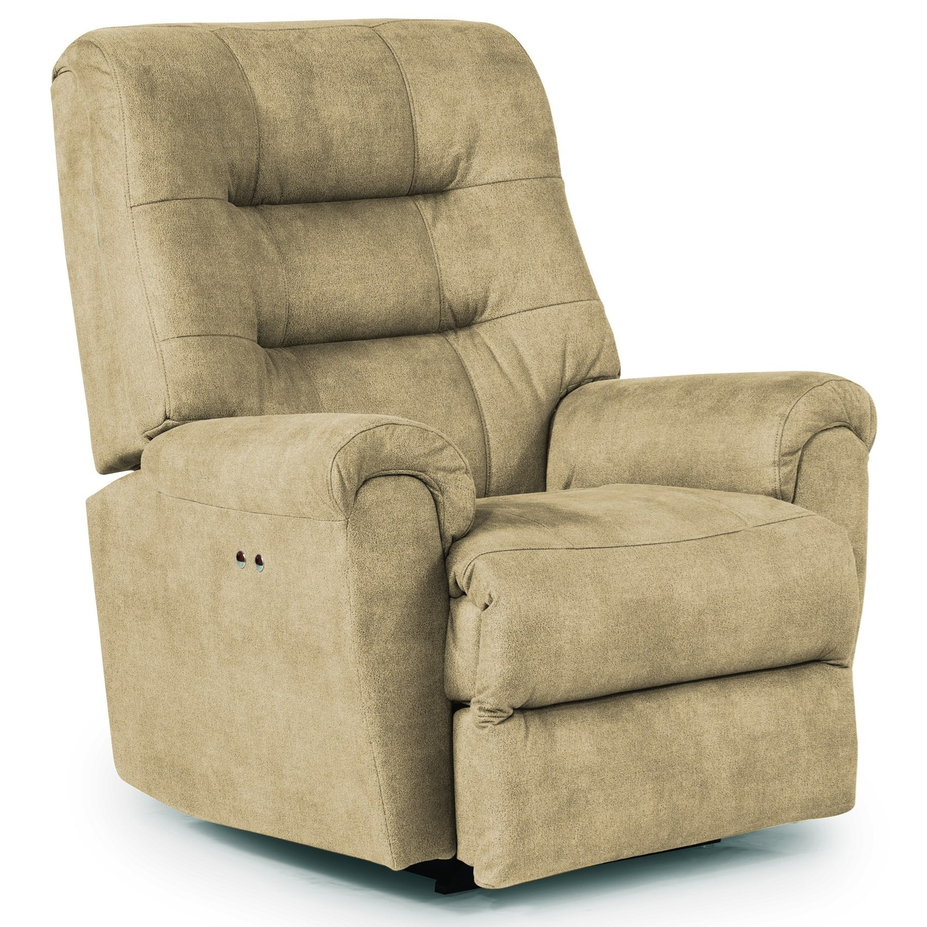 Best Home Furnishings Recliners - Medium Langston Power Space Saver Recliner - Item Number: -677908475-21957