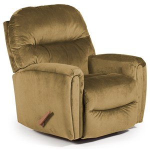 Best Home Furnishings Medium Recliners Markson Rocker Recliner