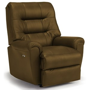 Best Home Furnishings Recliners - Medium Langston Power Rocker Recliner
