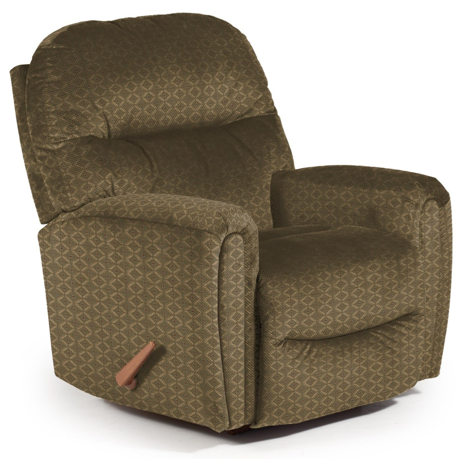 Best Home Furnishings Recliners - Medium Markson Space Saver Recliner - Item Number: 110599587-18021