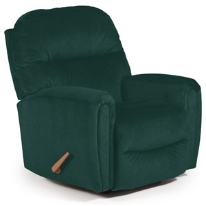 Best Home Furnishings Medium Recliners Markson Space Saver Recliner