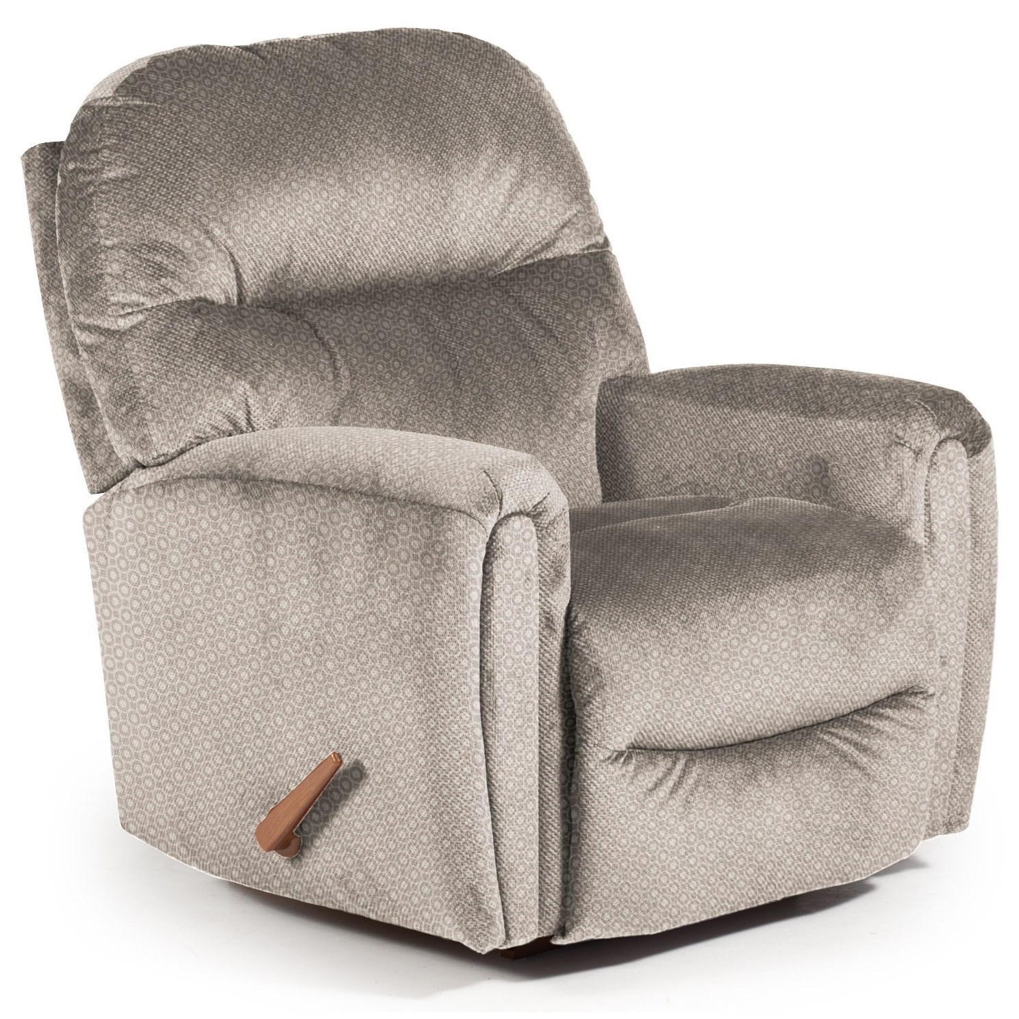 Best Home Furnishings Recliners - Medium Markson Space Saver Recliner - Item Number: 110599587-28718