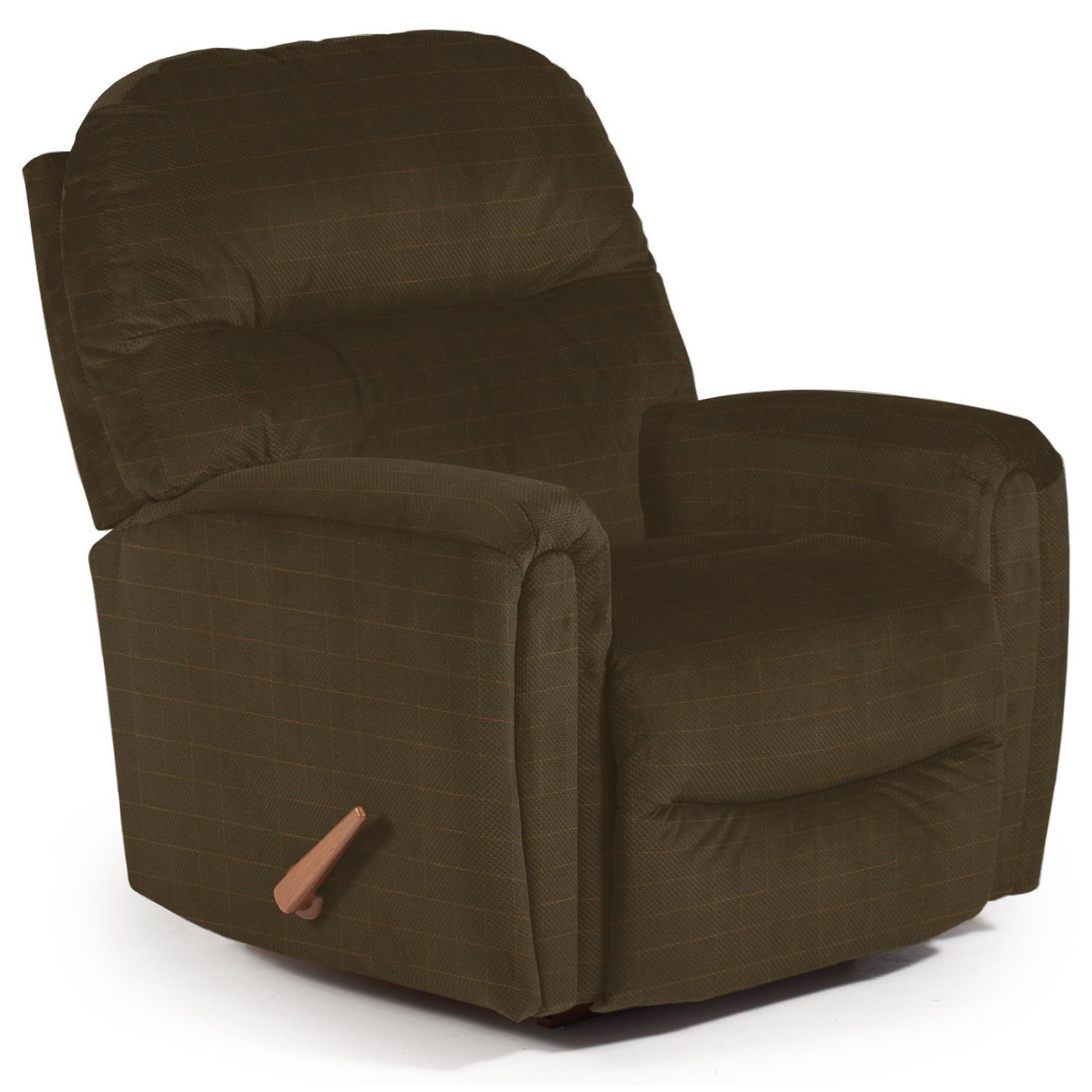Best Home Furnishings Recliners - Medium Markson Space Saver Recliner - Item Number: 110599587-28936