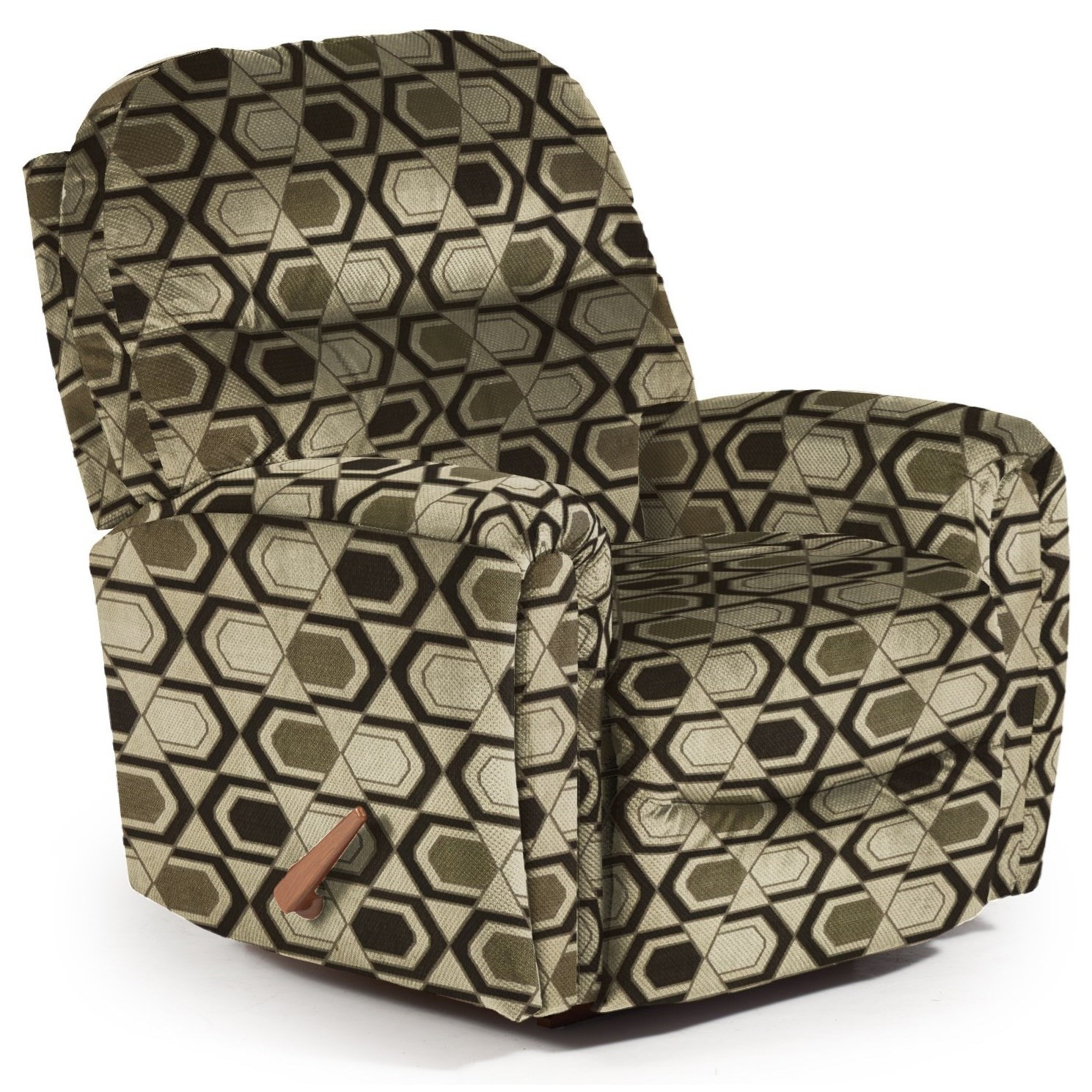 Best Home Furnishings Recliners - Medium Markson Space Saver Recliner - Item Number: 110599587-30563
