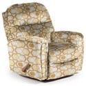 Best Home Furnishings Medium Recliners Markson Space Saver Recliner - Item Number: 110599587-30565