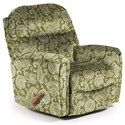 Best Home Furnishings Medium Recliners Markson Space Saver Recliner - Item Number: 110599587-34061