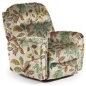Best Home Furnishings Recliners - Medium Markson Space Saver Recliner - Item Number: 110599587-34389