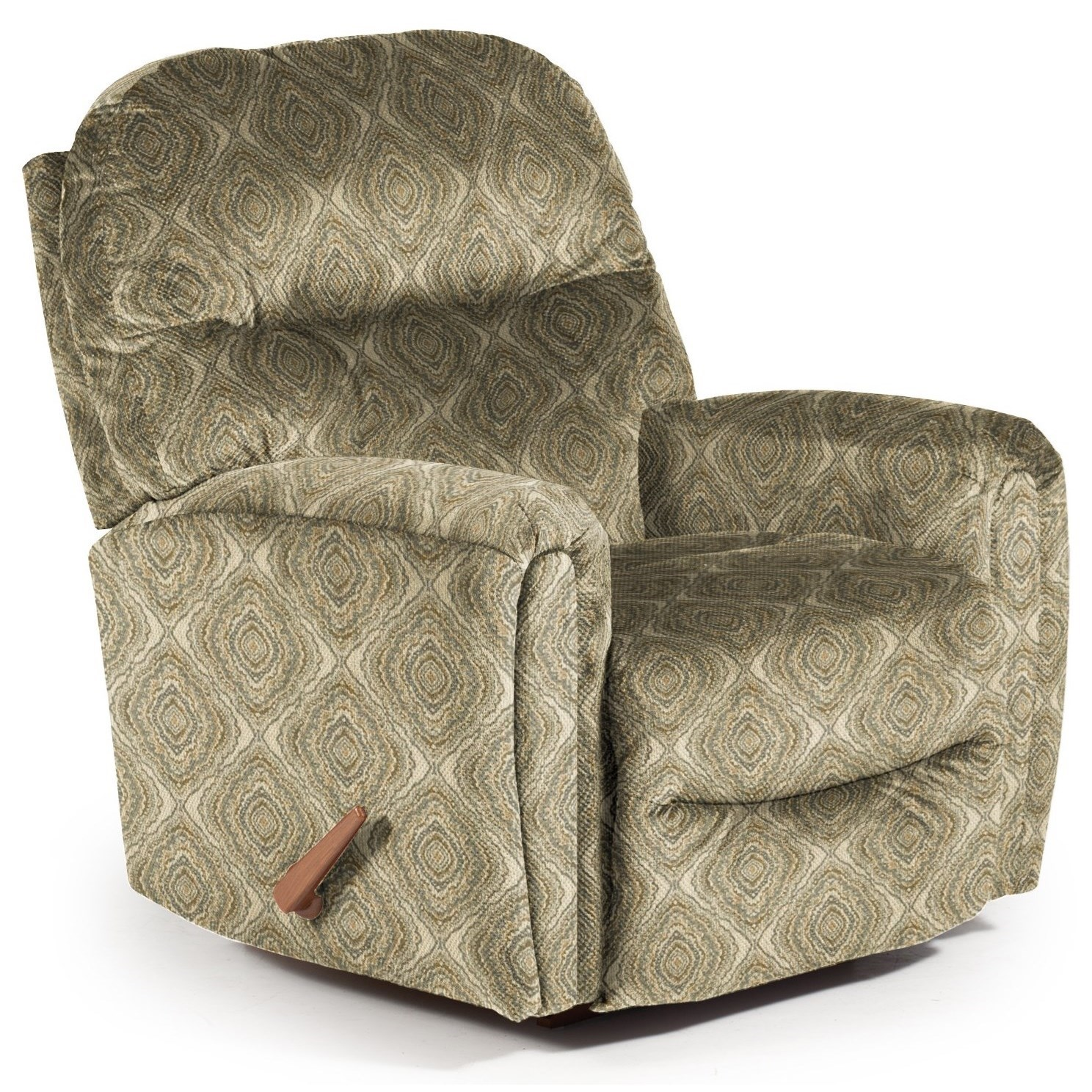 Best Home Furnishings Recliners - Medium Markson Space Saver Recliner - Item Number: 110599587-34569