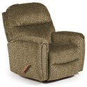 Best Home Furnishings Recliners - Medium Markson Space Saver Recliner - Item Number: 110599587-34633