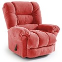 Best Home Furnishings Medium Recliners Seger Wallhugger Recliner - Item Number: 1452936368-21908