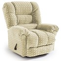 Best Home Furnishings Recliners - Medium Seger Wallhugger Recliner - Item Number: 1452936368-25797