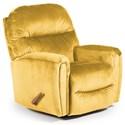 Best Home Furnishings Medium Recliners Markson Swivel Rocker Recliner - Item Number: 1535190177-22175