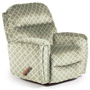 Best Home Furnishings Recliners - Medium Markson Swivel Rocker Recliner