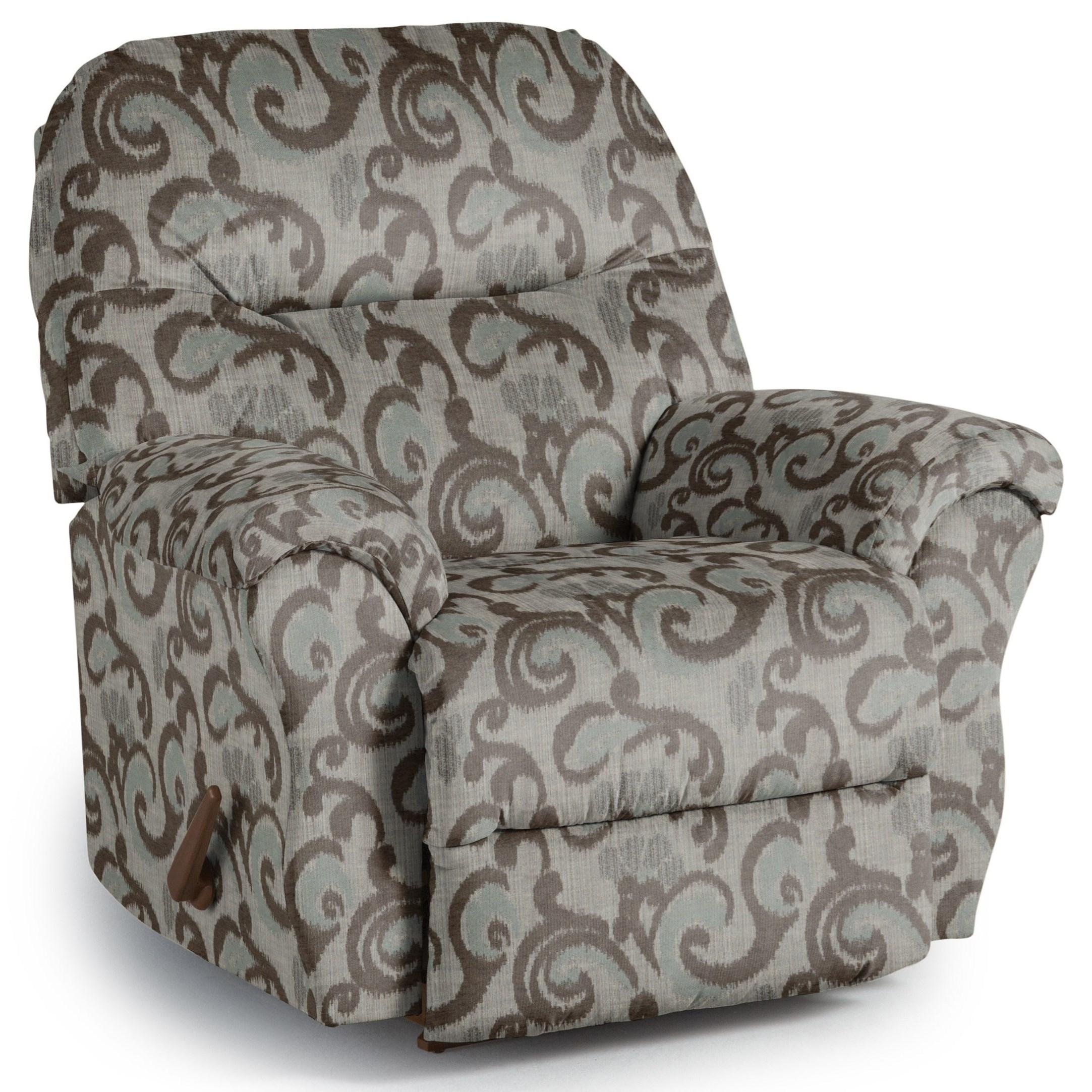 Best Home Furnishings Recliners - Medium Bodie Wallhugger Recliner - Item Number: 1797203682-28823