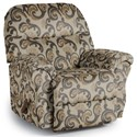 Best Home Furnishings Recliners - Medium Bodie Wallhugger Recliner - Item Number: 1797203682-28829
