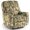 Best Home Furnishings Medium Recliners Bilana Swivel Glider Recliner - Item Number: 182123838-27223