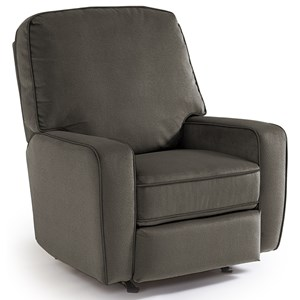 Best Home Furnishings Medium Recliners Bilana Rocker Recliner