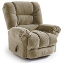 Best Home Furnishings Medium Recliners Seger Swivel Rocker Recliner - Item Number: 1985587285-18021
