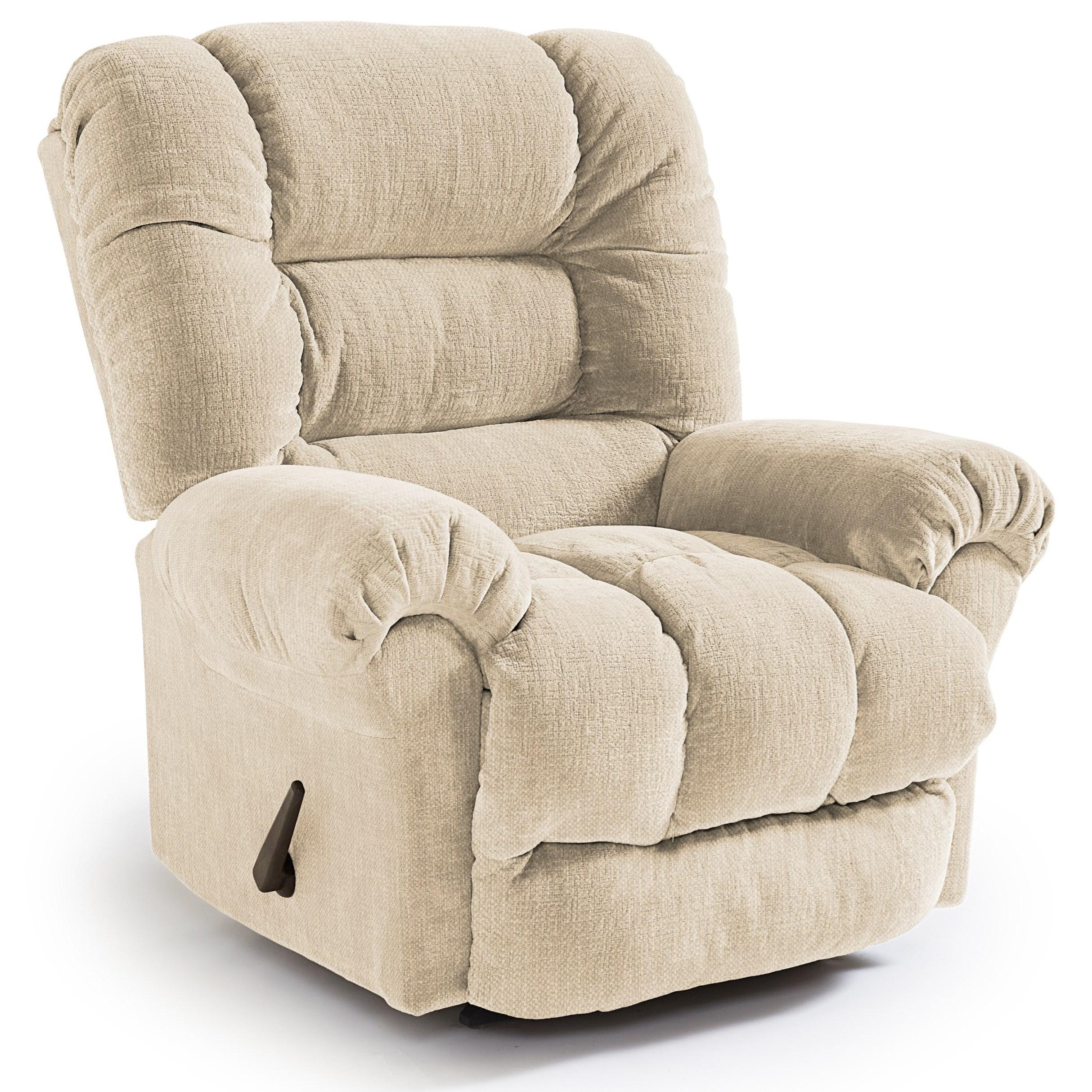 Medium Recliners Seger Swivel Rocker Recliner by Best Home Furnishings at Turk Furniture