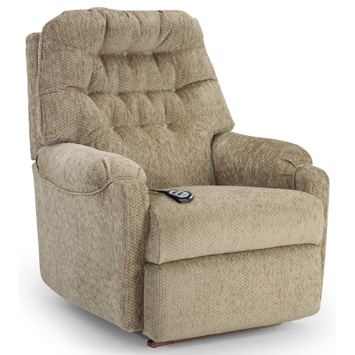 Best Home Furnishings Recliners - Medium Power Rocker Recliner - Item Number: 1AP27