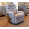 Best Home Furnishings Medium Recliners Sondra Dove Recliner - Item Number: 1AW27-19913B