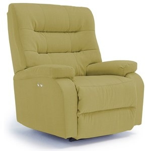 Best Home Furnishings Recliners - Medium Liam Power Rocker Recliner