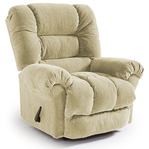 Best Home Furnishings Recliners - Medium Seger Rocker Recliner
