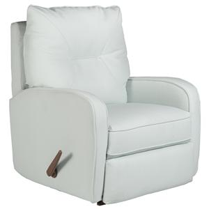 Best Home Furnishings Recliners - Medium Ingall Swivel Rocker Recliner