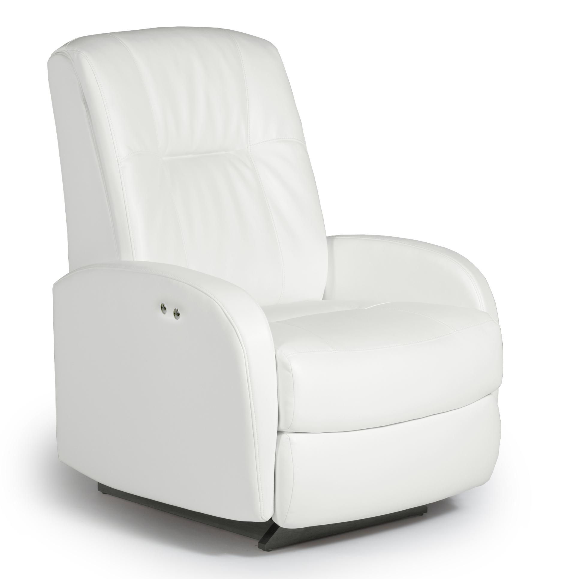 Best Home Furnishings Recliners - Medium Ruddick Space Saver Recliner - Item Number: 2A44