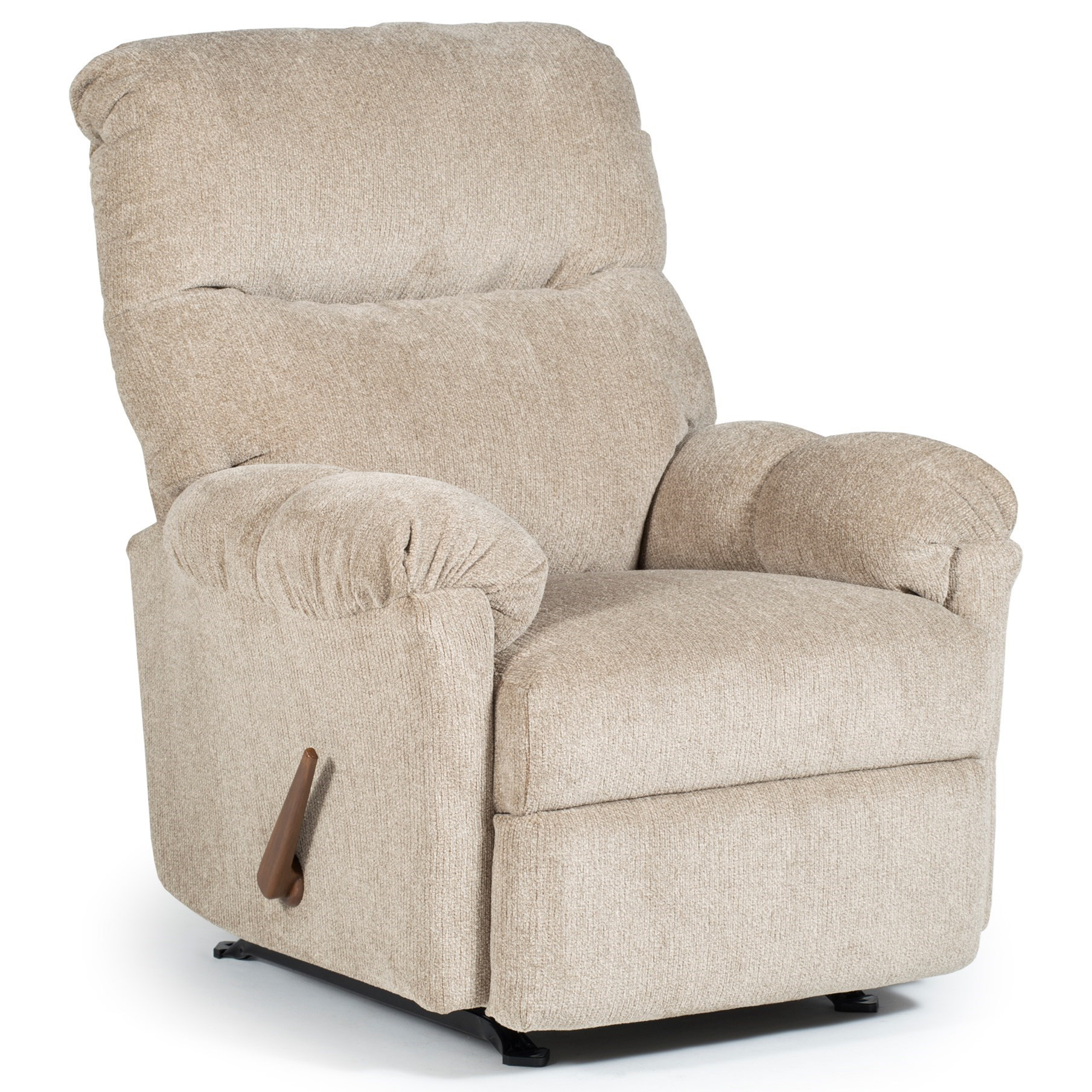Best Home Furnishings Recliners - Medium Balmore Swivel Rocker Recliner - Item Number: 2NW69