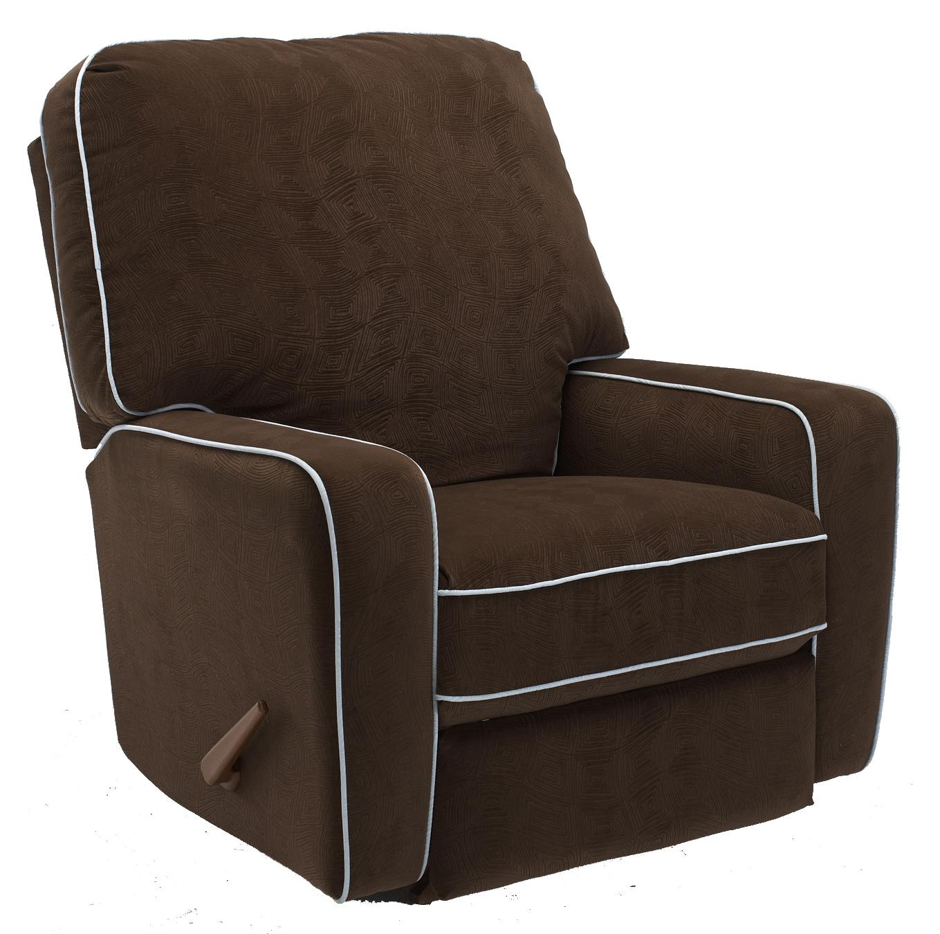 Best Home Furnishings Recliners - Medium Bilana Wallhugger Recliner - Item Number: 4MW54