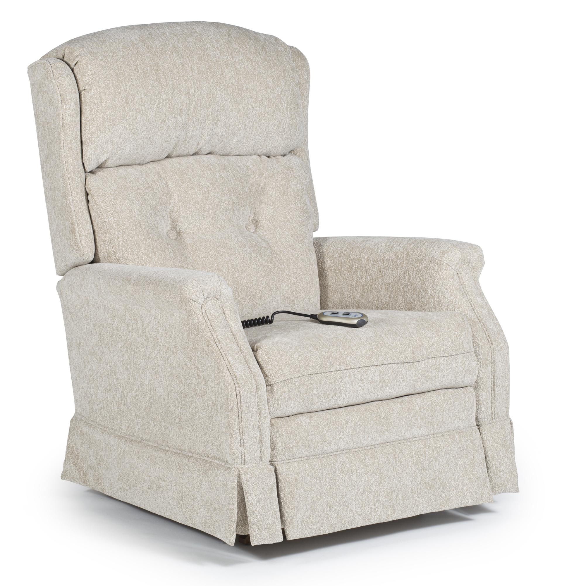 Best Home Furnishings Recliners - Medium Kensett Power Recliner - Item Number: 4NP14