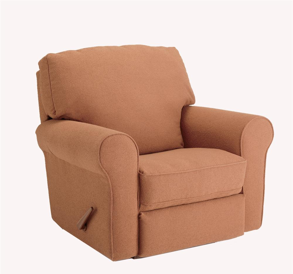 Best Home Furnishings Recliners - Medium Irvington Swivel Rocker Recliner - Item Number: 5MW39
