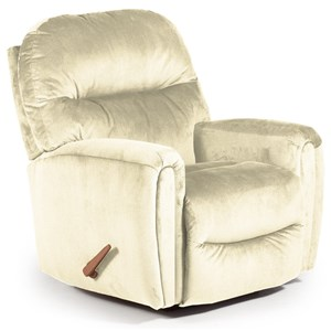 Best Home Furnishings Medium Recliners Markson Power Space Saver Recliner