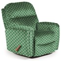 Best Home Furnishings Medium Recliners Markson Power Space Saver Recliner - Item Number: 653357800-27062