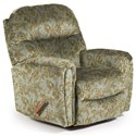 Best Home Furnishings Medium Recliners Markson Power Space Saver Recliner - Item Number: 653357800-34412