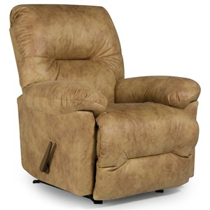 Best Home Furnishings Recliners - Medium Rodney Swivel Rocker Recliner