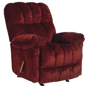 Best Home Furnishings Medium Recliners McGinnis Swivel Rocker Recliner